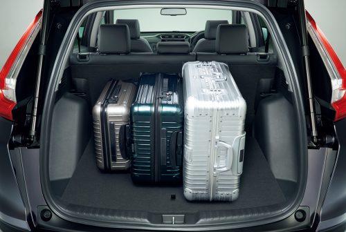 新型CR-Vの荷室